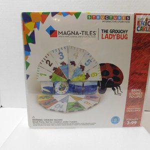 Megna-Tiles The Grouchy Lady Bug Educational Game